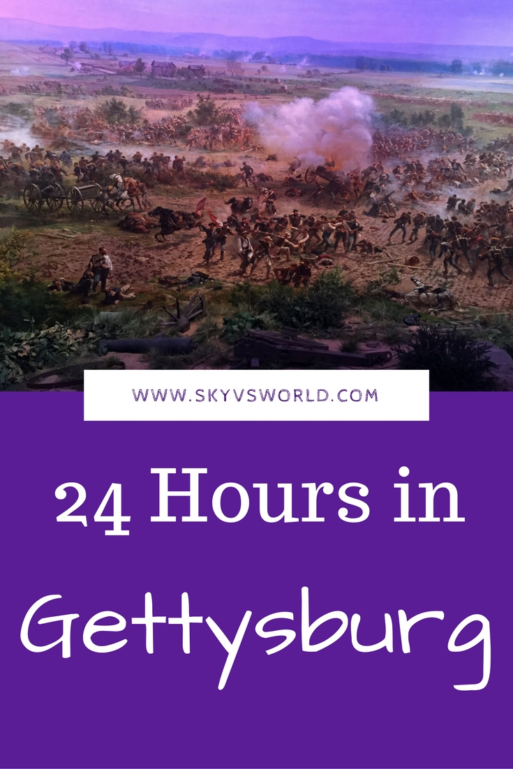 What to do in Gettysburg, Pennsylvania in 24 hours or less